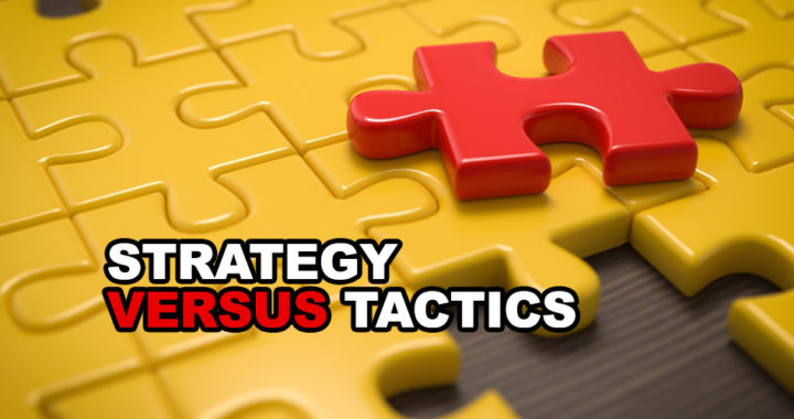 Difference between strategy and tactic
